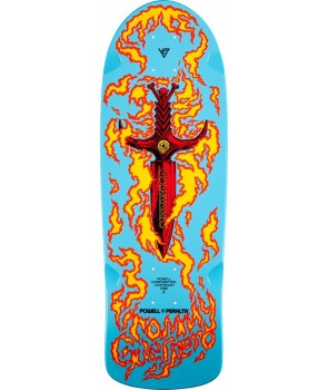 קרש פאוול - Powell peralta Tommy Guerrero Deck blue