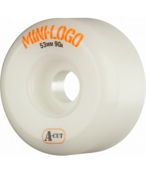 Mini Logo Skateboard Wheel A-cut