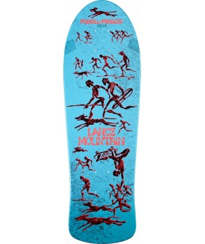 קרש פאוול - Lance Mountain Future Primitive Reissue Deck Light Blue